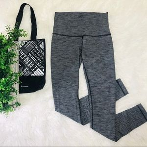 Lululemon Wunder Under Legging High Rise Heathered